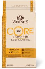 Wellness Core Grain Free Cat Sterilised Kip&Kalkoen - Kattenvoer - 1.75 kg - Kattenvoer