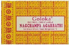 Gele Wierook kegels NAG champa Goloka Boeddha-Store