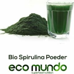 Eco Mundo Bio Spirulina Poeder 100 Gram
