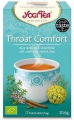Yogi Tea Throat Comfort 6-pack (6x 17st)