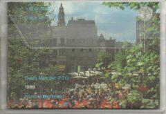 's Rijks Munt Nederland Jaarset Munten 1988 FDC - Groningen