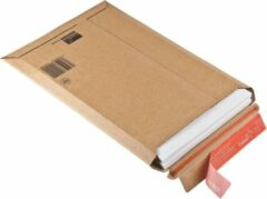 Packadi 50 Kartonnen Enveloppen/ Verzendenvelop Formaat A4 23,5 x 31 x 3,5 cm Bruin