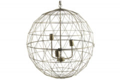 Countryfield Hanglamp Laurens 65,5 X 65 X 179 Cm Rvs Goud
