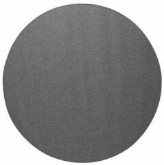 Interieur 05 Vloerkleed Rond Keet Zilver/Grijs - Tafel Vloerkleed - Polypropyleen - 175 Ø - (L)