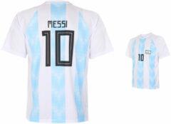 Blauwe Holland Argentinië Voetbalshirt Messi Thuis 2018-2020-140