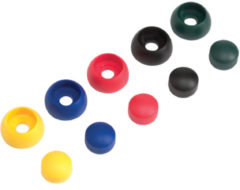 KBT | Kunststof afdekdop voor bouten | Groen | 12 mm