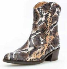 Bruine Gabor Cowboylaarzen slangenprint - Maat 38.5