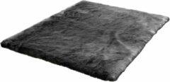 Antraciet-grijze Obsession Samba 495 Anthracite vloerkleed - 80x150 cm - Modern
