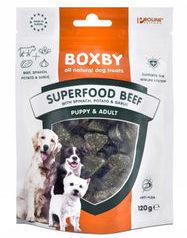Proline boxby Proline Superfood - Rund, Spinazie & Knoflook - Hondensnacks - 120 g
