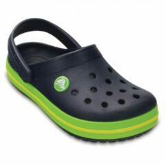 Crocs Crocband Slippers - Maat 29 - Unisex - blauw/groen/wit Maat 29-30