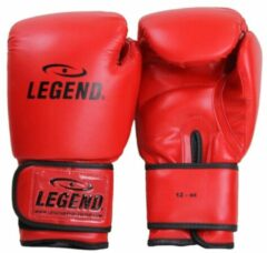 Legend Sports bokshandschoenen Powerfit & Protect rood mt 10