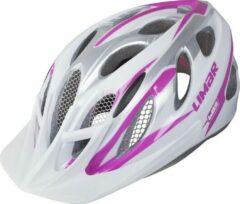 Sport action fietshelm Limar 685 wit roze