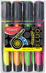 Maped Office Fluo'Peps tekstmarker MAX - etui x 4