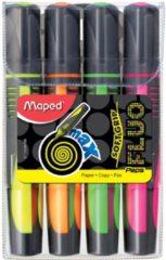 Witte Maped Markeerstft Fluo Peps Max Set Van 4