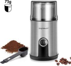 Aigostar Otto 30RYH - Elektrische Koffiemolen - 200W - Roestvrijstaal/Zwart
