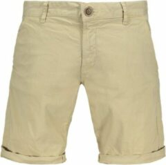 Bruine Cars Jeans - Heren Short - Stretch - Tino - Beige