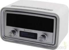 Soundmaster UR190WE Wekker radio DAB+ tafelmodel - Wit