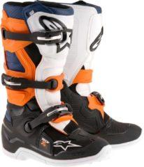 Alpinestars Crosslaarzen Tech 7 Black/Orange/White/Blue-45.5 (EU)