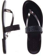 Inuovo - sandalen - maat 40 - dames - zwart - leder