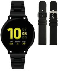 Samsung Galaxy Watch Active2 - Staal - Schakelband - 40mm - Special Edition - Zwart