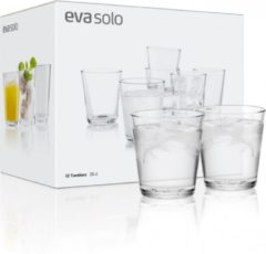 Transparante Eva Solo Glazenset 25 cl, per 12 stuks - glas