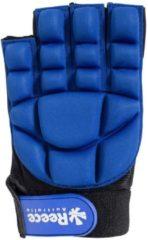 Blauwe Reece Australia Comfort Half Finger Glove Sporthandschoenen Unisex - Maat XXS