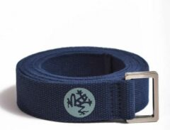 Blauwe Manduka UnfoLD Yoga Riem - 182 cm - Midnight