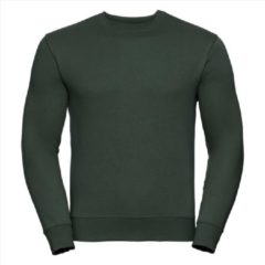Russell Heren Sweatshirt Donkergroen Ronde Hals Regular Fit - 3XL