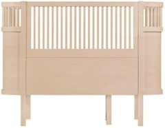 Naturelkleurige Sebra The Sebra baby/Junior kinderbed Wooden Edition