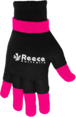 Zwarte Reece Australia Knitted Ultra Grip Glove 2 in 1 Sporthandschoenen Unisex - Maat Junior