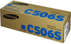 Blauwe Samsung CLT-C506S Cyan Toner Cartridge tonercartridge 1 stuk(s) Origineel Cyaan