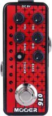 Mooer Micro Preamp 016 Phoenix overdrive effectpedaal