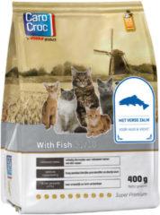 Carocroc With Fish Gevogelte&Vis&Rijst - Kattenvoer - 400 g - Kattenvoer