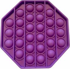 BlijeKids Fidget Toy Pop it / Stress Pop'n Play PAARS hexagon (achthoek)