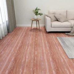 VidaXL Vloerplanken zelfklevend 55 st 5,11 m² PVC rood