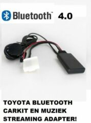 Zwarte Uwautoonderdeel.nl Toyota Prius Rav4 Yaris Bluetooth carkit en muziek streaming adapter aux module Dongle Mp3 AD2P