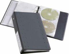 Durable 2-voudig CD/DVD-ordner 20 CDs/DVDs/Blu-rays Antraciet 10 stuk(s) (l x b x h) 295 x 193 x 6 mm 520458