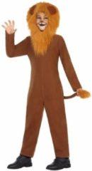Bruine Leeuw leo kostuum / verkleedpak voor kinderen - dierenpak 116 (5-6 jaar)