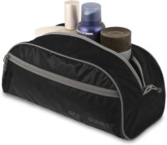 Sea to Summit - Toiletry Bag - Toilettas maat L zwart/bruin/grijs