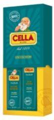 Lella Milano Cella Milano Cadeauset Scheercrème & Aftershave Balm Bio