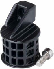 Zwarte CloseTheGap HideMybell Uni Light Adapter Stuurhouder & Fietsbel - Black