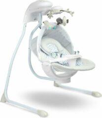 Grijze Caretero Elektrische schommelstoel RAFFI Grey - wipstoel geschikt voor newborns