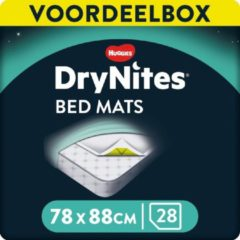 Witte DryNites Matrasbeschermers - Extra Absorberend - 88 x 78 cm - 28 stuks