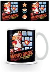 Witte Nintendo Super Mario Nes Cover Mug