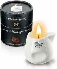 Plaisirs Secrets Massagekaars Chocolade - 80 ml