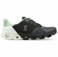 On - Women's Cloudflyer - Runningschoenen maat 7,5, grijs/zwart/grijs/zwart/zwart/purper/blauw/beige/rood/blauw/zwar