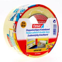 Tesa 56172-3 56172-3 Dubbelzijdige tape Wit (l x b) 25 m x 50 mm 1 rol/rollen