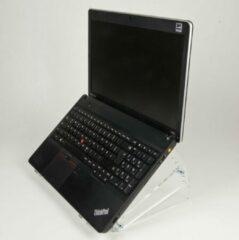 Zwarte NewStar NSNOTEBOOK300 - Laptop standaard - Acryl - doorzichtig