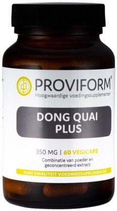 Afbeelding van Proviform Dong Quai Plus Vegicaps 60st
