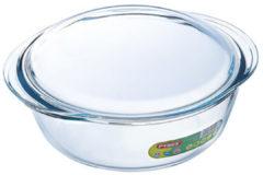 Transparante Pyrex Optimum Ovenschalenset 1,4 l - 2,1 l - 3 l - 21 x 18 x 8 cm - 24 x 20 x 10 cm - 27 x 23 x 11 cm